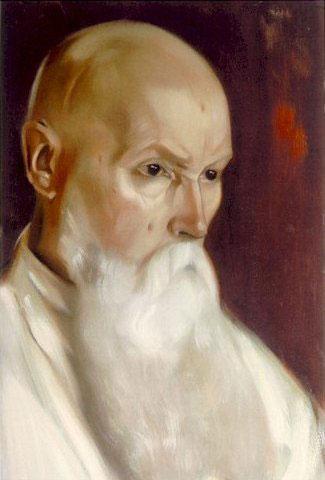 Н.К. Рерих. Портрет Святослава Рериха
